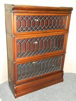 mahogany Globe Wernicke stacking bookcase / sectional bookcase (4 of 7)
