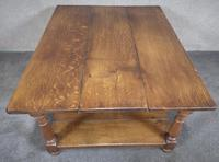 Solid Oak Rectangular Coffee Table (4 of 11)