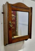 Wall Hanging Oak Cloakroom or Bathroom Cupboard (2 of 6)