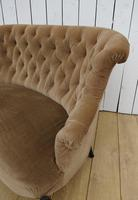 Antique French Napoleon III Button Back Sofa (7 of 9)
