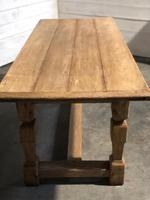 Rustic French Oak Farmhouse Dining Table (2 of 26)