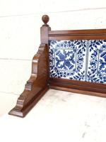 Antique Washstand with Tiled Back (4 of 10)