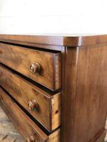 Victorian Mahogany Chest of Three Drawers (13 of 14)