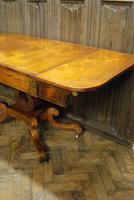 Regency Rosewood Sofa Table (8 of 9)