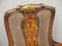 Pair of Queen Anne Style Walnut Armchairs (16 of 17)