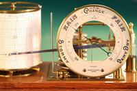 Drum Barograph & Barometer by Negretti & Zambra No 455 c.1918 (4 of 12)