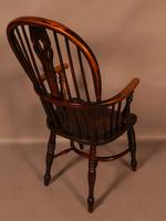 High Back Windsor Chair Ash & Elm Rockley Maker (4 of 8)