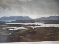 """John McNulty Limited Edition Lithograph """"Bogland I"""" (2 of 5)"""