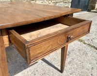 Small Antique French Elm Farmhouse Table (10 of 22)