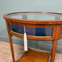 Stunning Victorian Satinwood Bijouterie Jewellery Table (3 of 6)