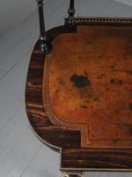 Antique Victorian Coromandel Ladies Writing Desk (10 of 14)