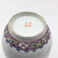 Chinese Famille Rose Jar & Cover - Hongxian (6 of 7)