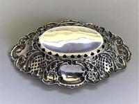Lovely Edwardian Pierced Silver Trinket Dish (7 of 7)