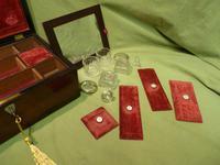 Inlaid Rosewood Jewellery – Vanity Box c.1860 (4 of 14)