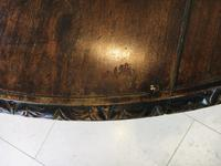 Stunning Antique French Walnut Carved Griffin Circular Dining Table c.1840 (11 of 12)