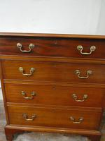 Small Early 20th Century Mahogany Chest of Drawers (9 of 10)