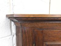 19th Century Antique Oak Wall Hanging Corner Cupboard (5 of 7)