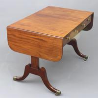 Regency Period Figured Mahogany Sofa Table c1815 (4 of 11)