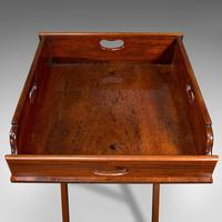 Antique Butler's Stand, English, Mahogany, Serving Tray, Rest, Victorian c.1900 (9 of 12)