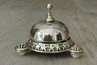 Rare Wilsons Patent 1884 Brass Counter Bell by William Tonks & Sons (8 of 8)