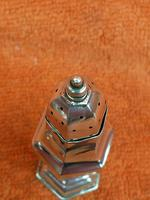 Antique Sterling Silver Hallmarked Pepper Shaker 1909 Henry Matthews (5 of 8)