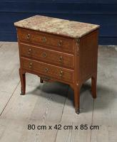 French Parquetry Commode Chest of Drawers (2 of 27)