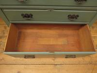 Antique Gustavian Style Blue Painted Chest of Drawers (9 of 18)