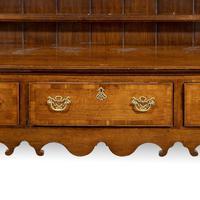 Good Mid 19th Century Oak Dresser & Rack (4 of 6)