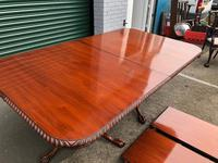 Quality Mahogany Extending Dining Table (12 of 15)