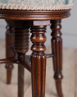 Fine Quality Regency Mahogany Piano Stool (6 of 7)