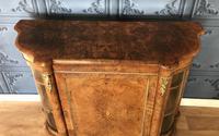 Victorian Burr Walnut Inlaid Credenza With Ormolu Mounts (4 of 27)