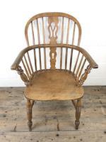19th Century Beech & Elm Windsor Armchair (2 of 7)