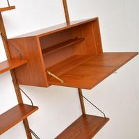 Danish Teak Vintage PS Wall System Bookcase Cabinet (4 of 6)
