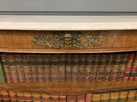 19th Century Rosewood Open Bookcase (6 of 13)