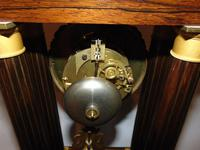 French Charles X Rosewood Portico Clock (7 of 9)