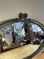 Art Deco Wrought Iron Mirror (4 of 5)