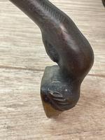 Circa 1920 Gilt Bronze Sporting Pacing Horse Statue Influenced By Giambologna (28 of 42)