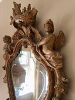 Fine English 18th Century Antique Gilt Mirror Pier Glass (5 of 10)