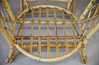 Single Bamboo Cane Tub Chair. (9 of 12)