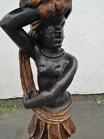 Striking 19th Century Figural Torchére (4 of 9)