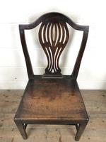 Set of Four Welsh Oak Farmhouse Chairs (5 of 10)