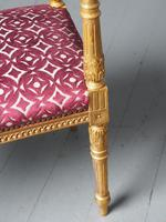 Antique Adams Style Gilded Window Seat (10 of 12)