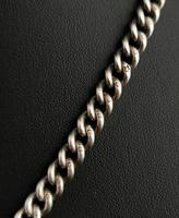 Victorian Silver Double Albert Chain, Watch Chain Fob (3 of 11)