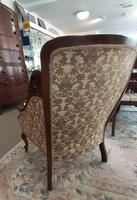 Mahogany Bedroom Armchair (3 of 6)