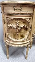 Fabulous French Bergere Bedside Cabinets (7 of 12)