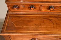 George III Sheraton Period Secretaire Cabinet (4 of 9)