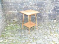 Arts & Crafts Golden Oak Table (8 of 12)