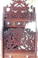 19th Century Scottish Vernacular 'folk Art' Thistle Fretwork Spoon & Candle Box (17 of 36)