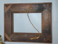 Fabulous Large Pair of Aesthetic Movement Oak Picture or Mirror Frames,Bats & Birds in Reeds c.1900 (7 of 8)