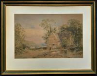 William Charles Goddard (exh.1885) Stunning Country Watermill Landscape Painting (14 of 15)